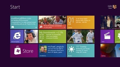 微软高管称Win 8硬件需求与Win 7大致相同